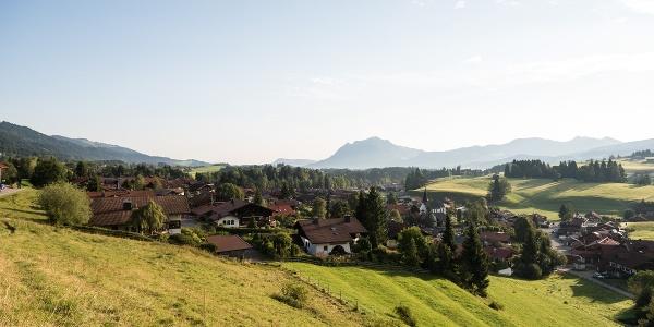 Blick auf Obermaiselstein