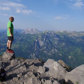 Phänomenaler Aussichtspunkt im Glarnerland