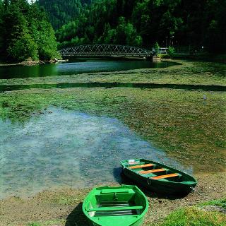 Ruhe und Frieden: Am Doubs bei Biaufond