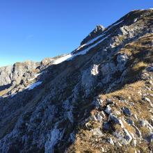Zwischen Rotwandl- und Brunnsteinspitze