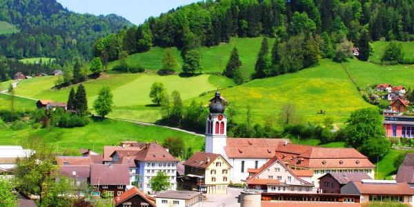 St. Peterzell vom Süden
