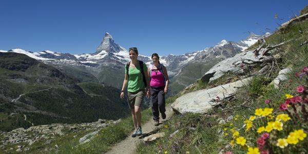 Wandern rund um den Peak Rothorn