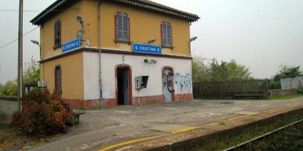 gare de Santa Cristina E Bissone