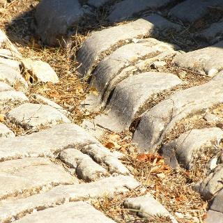 Traces de chars romains près de Gallargues