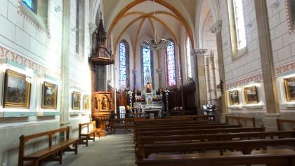 Montfaucon: Kirche