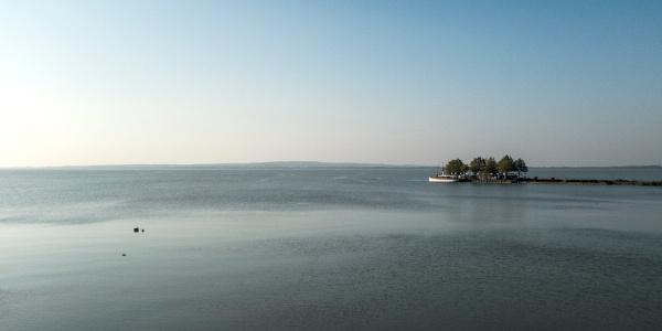 Kilátás Keszthely partjáról