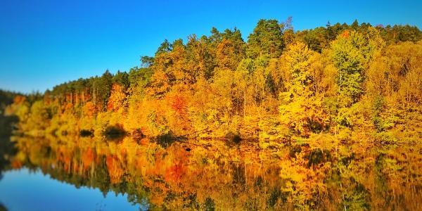 15 Oktober - Am Stausee