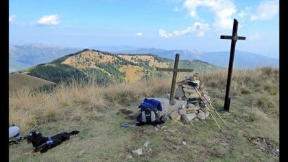 Gipfel des Monte Ceppo
