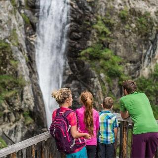 Klammbach waterfall