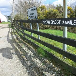 Gairlochy to Spean Bridge