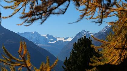 """Blick in Richtung """"Klein Matterhorn"""" (3883 m ü. M.)"""
