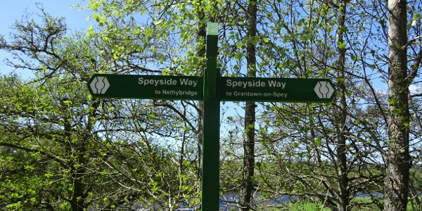 Speyside Way Signpost
