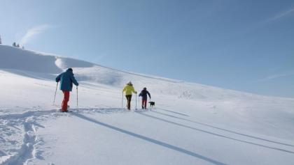 Schneeschuhwandern im Oberen Emmental.