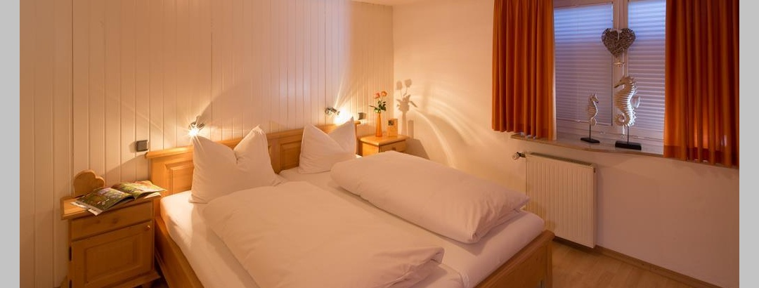 Schlafzimmer in einer Oberallgäuer Ferienwohnung