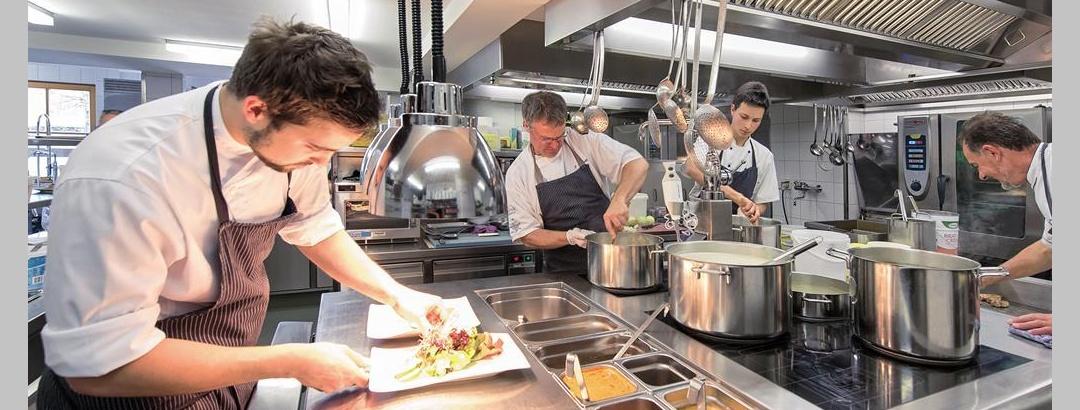 Kitchen Hotel Krone Stein