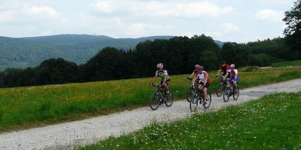 Mountainbiker im Waldmünchner Urlaubsland