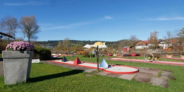 Minigolfplatz am Großen Alpsee