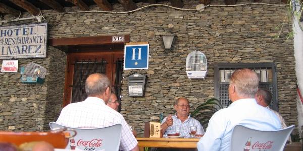 Dorfkneipe in Trevélez