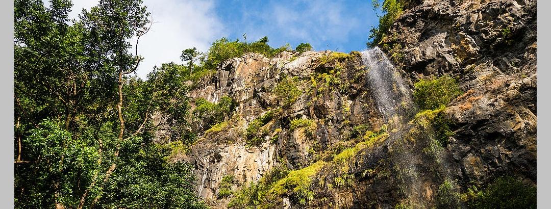 Wasserfall Black-River Gorges Nationalpark