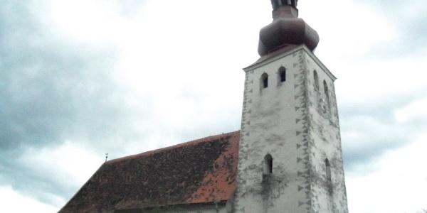 Almhausweg: St. Johann am Kirchberg