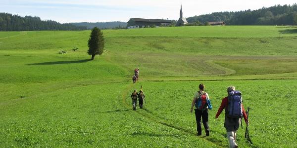 von Inzell nach St. Nikolaus