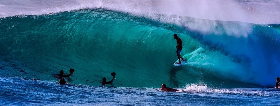 Surfer in Australien
