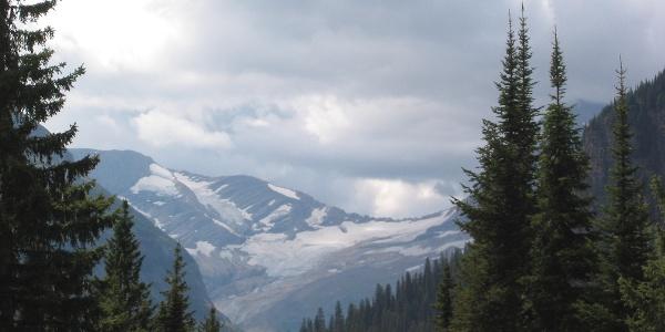 Blick auf Jackson Glacier