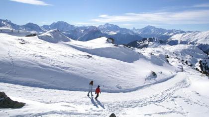 Winterwandern in der Aletsch-Arena.