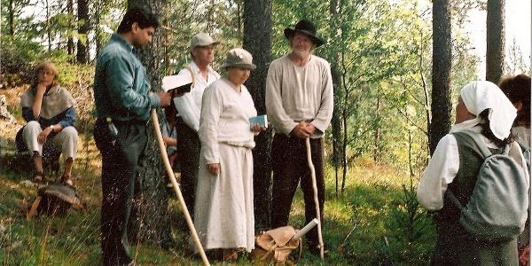 Pilgrim walk from Själstuga, 2003