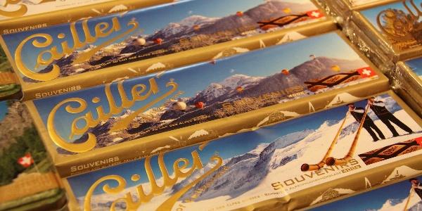 Schokolade naschen in Broc.