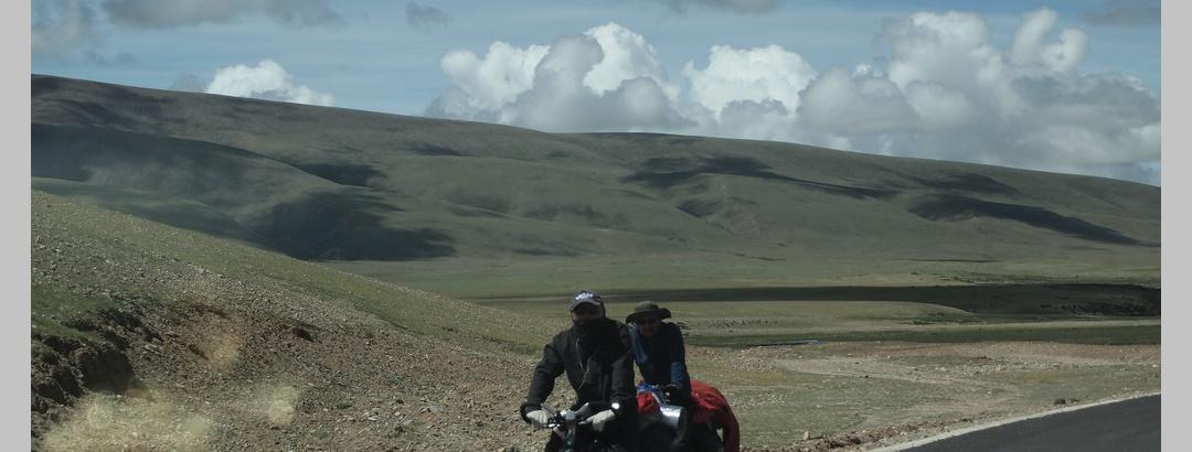 Radfahren in Tibet