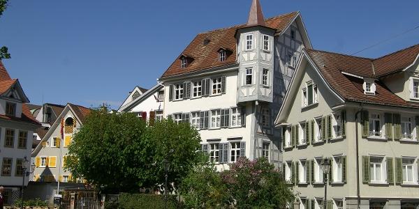 Gallusplatz St. Gallen.
