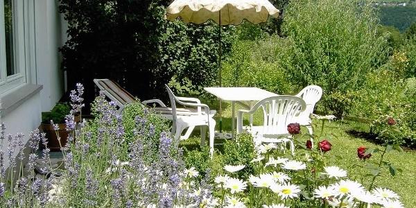 Sitzgruppe im Garten