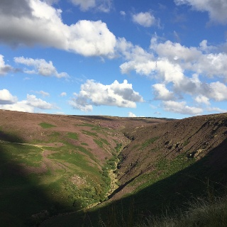 Moorland along the Pennine Way