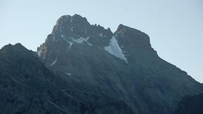 Blick auf die Nordwestwand des Monviso