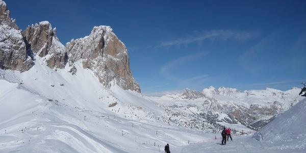 Skifahren auf der Sellaronda