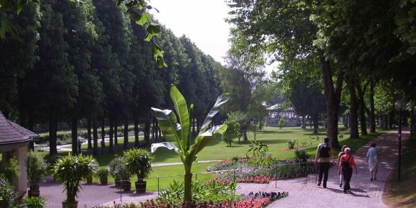 Kurpark von Bad Mergentheim
