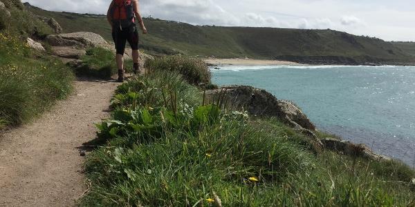 Approaching Sennen Cove