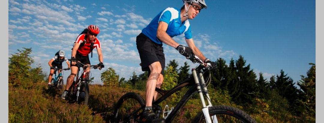Biker auf der Bike Arena Tour Nr. 33