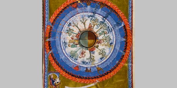 """Der Lebenskreis"", Liber Divinorum Operum I.4"
