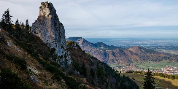 Staffelstein: Felsturm auf der Nordseite der Kampenwand