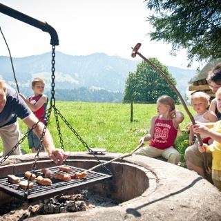 Die Grillstelle Bühlwald ist der ideale Ort für einen Rast