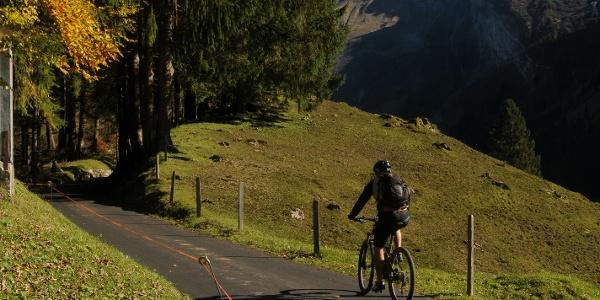 Biketour zur Gerschnialp