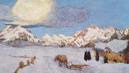 Landschaft in Maloja