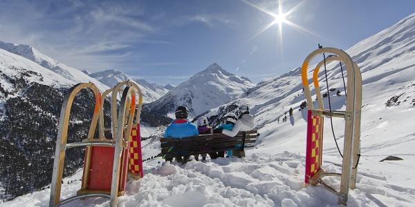 Vent Talleitspitze Schlitten