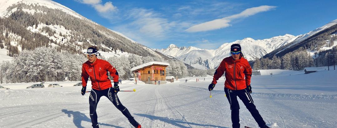 FIS-Rennloipe bei Ulrichen im Obergoms