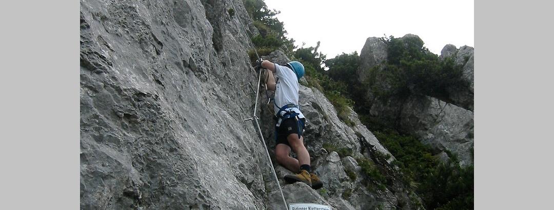 Im Pidinger Klettersteig