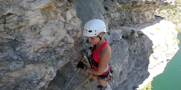 Mountaineering route Massimiliano Torti (Strade degli Banditi)