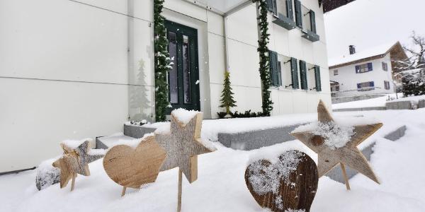 Mama´s Hus im tüfschta Winter