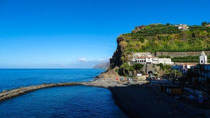 Küste von Ponta do Sol